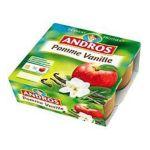Andros -  Dessert fruitier -  Dessert fruitier pomme / vanille 3045320080216