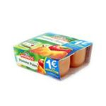Andros - Dessert fruitier - Compote poire fondante william 3045320082715
