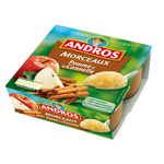 Andros -  Dessert fruitier -  Compote Morceaux pomme à la cannelle 3045320088311