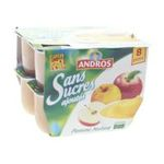 Andros -  Dessert fruitier sans sucre -  dessert fruitier - Pomme nature 3045320509915