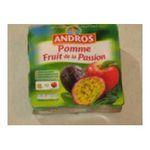 Andros -  Dessert fruitier -  Compote  pomme fruit de la passion 3045320512038