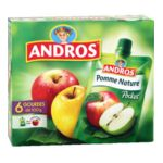 Andros - Pocket - Compote pommes nature 3045320521375