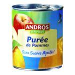 Andros -  Purée de fruits -  Purée de pommes sans sucres ajoutés  3045320524932