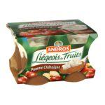Andros -  Liégeois de fruits -  Liégeois  Pomme Châtaigne  3045320526721