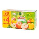 Andros - Pocket - Compote pomme nature 3045320529395
