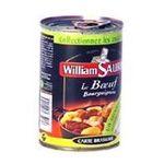 William Saurin -   saurin carte brasserie boeuf bourguignon boite de conserve  3049580540145