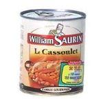 William Saurin -  4/4 CASSOULET FIN GOURMET WILLIAM SAURIN 3049580541074