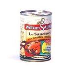 William Saurin -   william saurin coeur de marche saucisses aux lentilles 1/2  | 1/2 SAUCISSES LENTILLES W.SAURIN 3049580545560