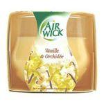 Air Wick -  wick bougie boite carton vanille orchidee1ct non rechargeable dans un verre multi usage bougie  3059940005078