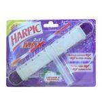 Air Wick - bloc cuvette wc max, 2 en 1, max lavande gardeni, marque harpic