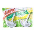 Air Wick - 2 blocs cuvette wc, javel citron vert, marque harpic