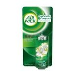 Air Wick -  wick mini fresh matic diffuseur a pile blister fleur blanche1ct recharge bouton booster aerosol diffuseur a pile modulable  3059943011779