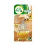 Air Wick -  wick diffuseur electrique boite carton fleur de vanille et douceur cashmere1ct recharge multi usage liquide diffuseur electrique modulable  3059943016163