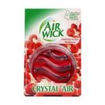 Air Wick -  wick crystal air diffuseur passif blister framboise1ct non rechargeable disque de verre multi usage gel objet a poser  3059946070018