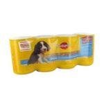 Pedigree -  junior nourriture pour chien boite de conserve agneau et volaille  4ct chiot petit et moyen chien patee  3065890001480