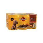 Pedigree -  nourriture pour chien boite de conserve boeuf ou lapin ou poulet  6ct tous chiens bouchee en sauce  3065890100541