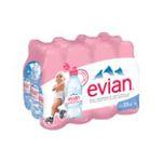 Evian -   eau minerale bouteille plastique bouchon sport nature  12ct etagere  3068320019321