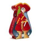 Djeco -  Puzzle silhouette pirate 36 pièces 3070900072206