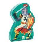 Djeco -  Puzzle 36 pièces silhouette chevalier fantastique 3070900072312