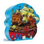 Djeco -  Puzzle 54 pièces silhouette bateau 3070900072411