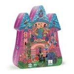 Djeco -  Puzzle silhouette château féerique 54 pièces 3070900072466
