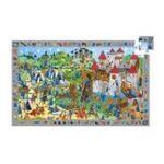 Djeco -  Puzzle 54 pièces Chevaliers 3070900075597