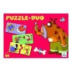 Djeco -  Puzzles 12 x 2 pièces duo animaux 3070900081529