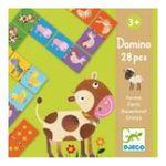 Djeco -  Domino ferme 3070900081581