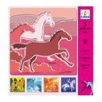 Djeco -  Pochoirs chevaux 3070900088184