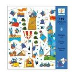 Djeco -  Chevaliers stickers 3070900088313