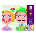 Djeco -  Drole de patouille peinture à doigts 3070900089006
