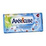 Apéricube -  nature aperitif de fromage fondu etui carton nature standard  24ct aperitif 50 pourcent m.g. 24 cubes  3073780515702