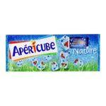 Apéricube -  nature aperitif de fromage fondu boite carton nature standard  48ct aperitif 45 pourcent m.g. 48 cubes  3073780857406