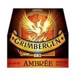 Grimbergen -  Bière blonde cuvée ambrée  3080216003306