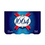1664 - Bière blonde  3080216005850