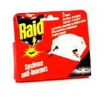 Raid -  insecticide blister 2ct  piege non rechargeable fourmi  3092830100330