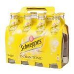 Schweppes -  tonic bouteille verre indien  8ct etagere  3124480000576