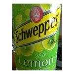 Schweppes -  lemon soft drinks gazeux bouteille plastique citron standard pas de cafeine boisson aux fruits gazeuse etagere  3124480002174