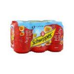 Schweppes -  agrum soft drinks gazeux boite metal agrume standard  6ct light pas de cafeine boisson aux fruits gazeuse etagere  3124480002730