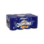 Orangina -  soft drinks gazeux boite metal orange standard  12ct pas de cafeine boisson aux fruits gazeuse etagere  3124480159076