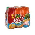 Oasis -  pocket boisson aux fruits plate bouteille plastique fruit tropical  6ct  3124480162687