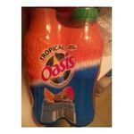 Oasis -  boisson aux fruits plate bouteille plastique fruit tropical  4ct  3124480169044