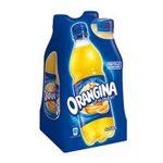 Orangina -  soft drinks gazeux bouteille plastique orange standard  4ct pas de cafeine boisson aux fruits gazeuse etagere  3124480169051