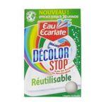 Eau écarlate -   ecarlate decolor stop anti decolorant boite carton1ct tout textile lingette reutilisable pendant lavage  3152210006857