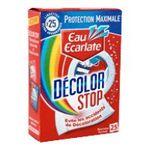 Eau écarlate -   ecarlate decolor stop anti decolorant boite carton 25cttout textile lingette pendant lavage  3152210008103