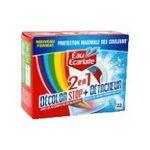 Eau écarlate -   ecarlate decolor stop 2 en 1 anti decolorant boite carton 22cttout textile detachant sachet pendant lavage  3152210008318