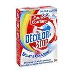 Eau écarlate -   ecarlate decolor stop eclat et couleurs anti decolorant boite carton 20cttout textile lingette pendant lavage  3152210008714