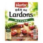 Herta -  lardon barquette secable nature decouenne sans cartilage des poitrine sale standard  3154230018346