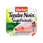 Herta -  tendre noix jambon cuit porc qualite superieur decouenne degraisse 4 t standard  3154230031031