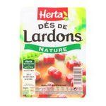 Herta -  lardon barquette plastique nature decouenne sans cartilage des poitrine sale standard  3154230034261